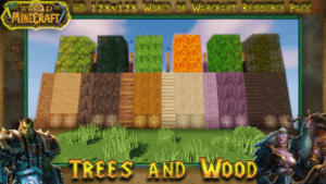 Ресурспак World of Minecraft для minecraft 1.13.2, 1.12.2
