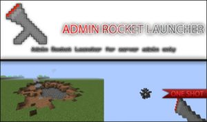 Мод Admin Weapons для minecraft 1.14.4, 1.12.2, 1.7.10