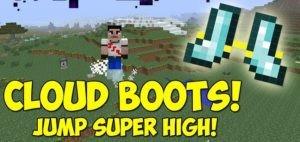 Мод Cloud Boots для minecraft 1.14.4, 1.12.2
