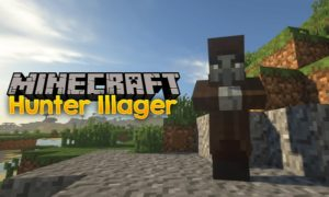 Мод на охотника - Hunter Illager для minecraft 1.16.3, 1.15.2, 1.14.2, 1.12.2