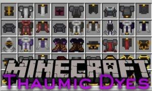 Thaumic Dyes для minecraft 1.7.10
