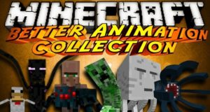 Мод Better Animations Collection 2 для minecraft 1.14.4, 1.12.2, 1.11.2