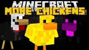 Мод на куриц - Chickens для minecraft 1.12.2, 1.11.2, 1.8.9