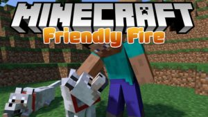 Мод Friendly Fire для minecraft 1.12.2, 1.11.2, 1.7.10