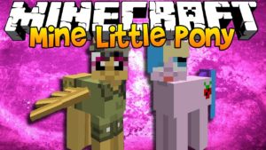 Мод Mine Little Pony Friendship is Crafting для minecraft 1.14.3, 1.12.2, 1.7.10