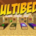 Мод MultiBeds для minecraft 1.14.4, 1.12.2