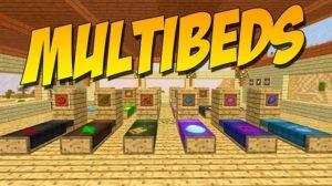 Мод MultiBeds для minecraft 1.12.2, 1.11.2, 1.10.2
