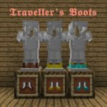 Мод Traveller's Boots для minecraft 1.14.4, 1.12.2