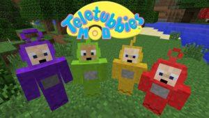 Мод на телепузиков - Teletubbie для minecraft 1.12.2, 1.8.9, 1.7.10