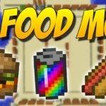 Мод XL Food для minecraft 1.15.2, 1.14.4, 1.12.2