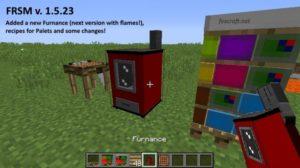 FRSM мод для minecraft 1.12.2, 1.11.2, 1.7.10