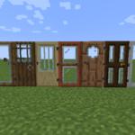 Мод на двери Modern Glass Doors для minecraft 1.14.4