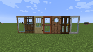 Мод на двери Modern Glass Doors 1.15, 1.14.4