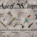 Мод Age of Weapons для minecraft 1.12.2, 1.11.2
