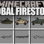 Global Firestorm Pack для Flan's minecraft 1.7.10