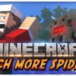 Мод на новых пауков для minecraft 1.12.2, 1.11.2, 1.8.9