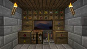 Мод Storage Drawers для minecraft 1.14.4, 1.12.2, 1.7.10