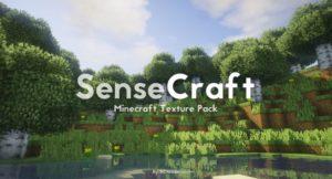 Ресурспак SenseCraft для minecraft 1.14.4, 1.12.2