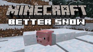 Мод Snow Accumulation для minecraft 1.15.2, 1.14.4, 1.12.2