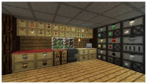 Мод Storage Drawers для minecraft 1.12.2, 1.11.2, 1.7.10