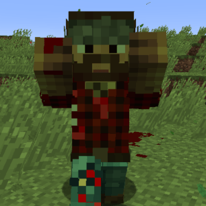 Мод Zombie Players для minecraft 1.12.2