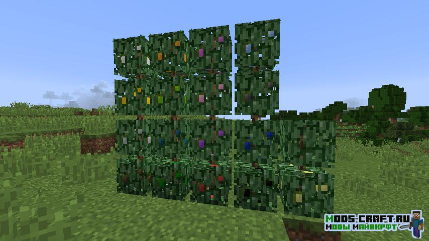 Мод на кусты и ягоды Berry Bushes для minecraft 1.14.4
