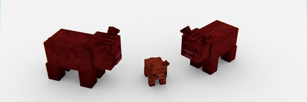 Мод Animania для minecraft 1.12.2, 1.11.2, 1.10.2