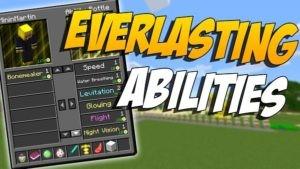 Мод Everlasting Abilities для minecraft 1.14.4, 1.12.2, 1.9.4