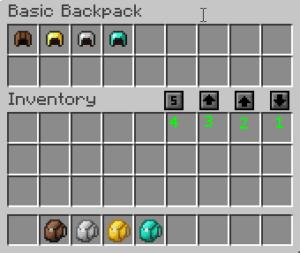 Мод Iron Backpacks для minecraft 1.12.2, 1.11.2, 1.7.10