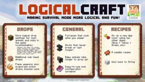 Мод LogicalCraft для minecraft 1.12.2, 1.11.2, 1.7.10