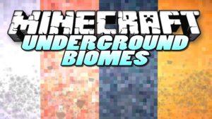 Мод Underground Biomes Constructs для minecraft 1.12.2, 1.11.2, 1.7.10