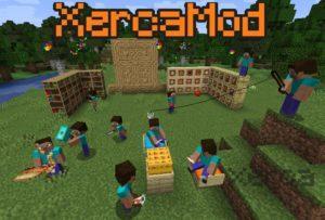 Мод Xerca для minecraft 1.16.5, 1.15.2, 1.14.4, 1.12.2