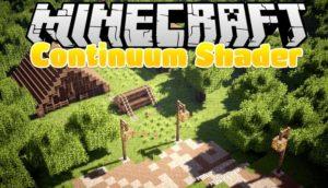 Шейдеры Continuum для minecraft 1.14.4, 1.12.2, 1.7.10