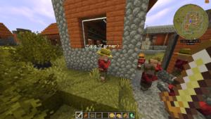 Мод Villager Names для minecraft 1.16.4, 1.15.2, 1.14.4, 1.12.2