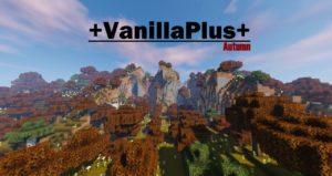 Ресурспак VanillaPlus+Autumn Edition [16x] для minecraft 1.15, 1.14.4