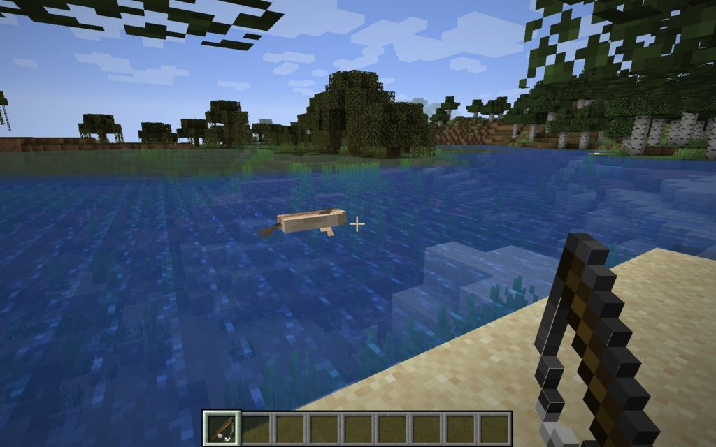 Мод на реалистичную рыбалку - Fishing Real 1.16.1, 1.15.2, 1.14.4