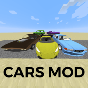 Мод Cars and Engines для minecraft 1.12.2