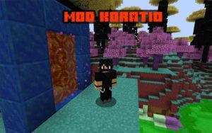 Мод на измерение Koratio для minecraft 1.14.4