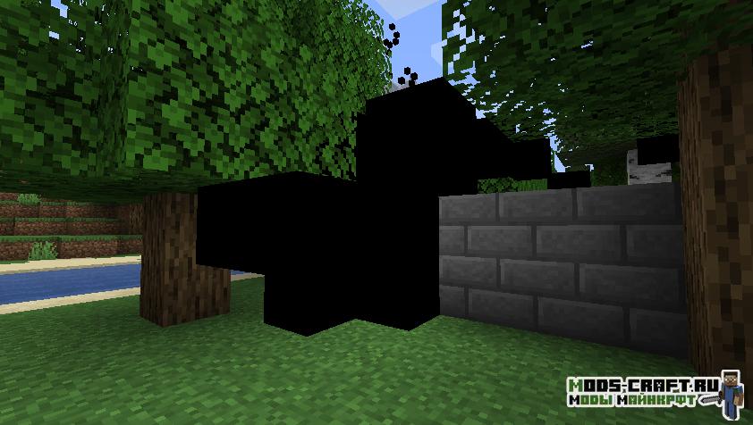 Мод Neverwhere (тёмное измерение) для майнкрафт 1.14.4