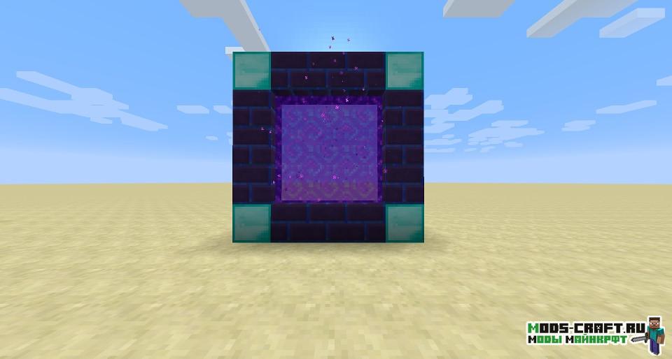 Мод на простые порталы для minecraft 1.15.2, 1.14.4, 1.12.2
