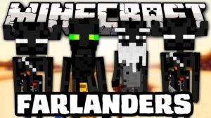 Мод на эндерменов The Farlanders для minecraft 1.14.4, 1.12.2, 1.7.10