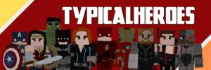 Мод TypicalHeroes - супергерои для майнкрафт 1.12.2