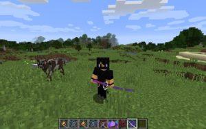 Мод SlashBlade (катаны и комбо) для minecraft 1.14.4, 1.12.2