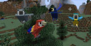 Мод Exotic Birds для майнкрафт 1.12.2, 1.7.10