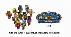 Мод World of Warcraft Weapons 1.15.2, 1.14.4, 1.12.2