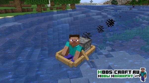 Мод на новые лодки Extra Boats для minecraft 1.14.4
