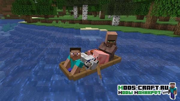 Мод на новые лодки - Extra Boats для minecraft 1.16.1, 1.15.2, 1.14.4