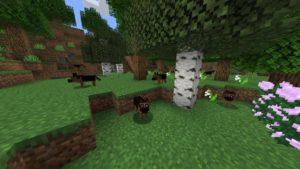 Мод More Dogs (собаки) для minecraft 1.14.4
