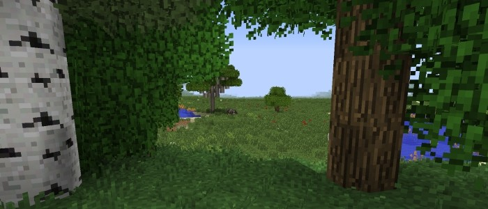 Мод на реалистичную природу для minecraft 1.14.4, 1.12.2, 1.7.10
