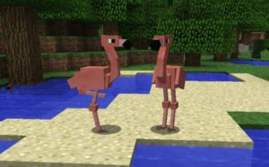 Мод Exotic Birds для майнкрафт 1.15.2, 1.14.4, 1.12.2, 1.11.2, 1.7.10